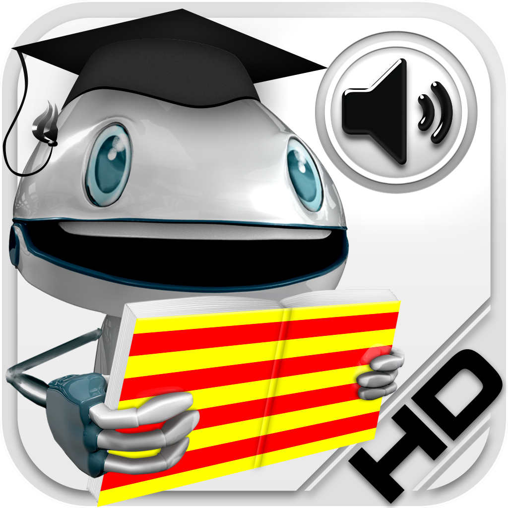Catalán Verbos HD (LearnBots™ Animaciones conjugaciones verbo y toda la pronunciación por un hablante nativo)